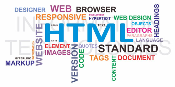 HTML-related web site development technology terms